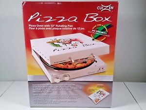 New In Box Cuizen Pizza Box Oven With 12 Rotating Pan Model Piz 4012