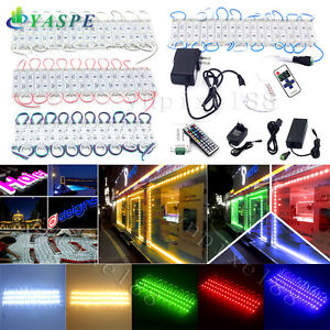 50 100ft 5050 Smd 3 Led Module Store Front Window Light Strip Or Remote Power
