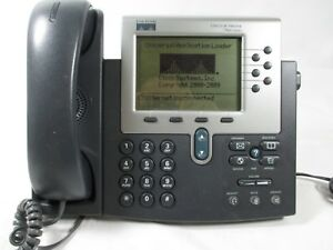 Lot Of 4 Cisco Voip Cp 7960g Desktop Phone System Business Phones Cisco Ip Phone