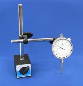 Dial Indicator Set With On off Magnetic Base New Free Shipping
