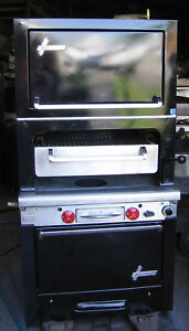 Garland Heavy duty Ceramic Broiler W Finishing Oven Steak Salamander Grill