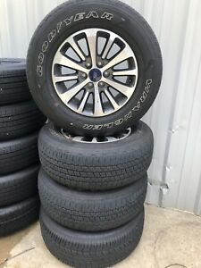 18 Ford F150 F 150 Rims Wheels With 275 65 18 Michelin Owl Tires