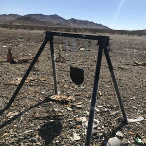 Shooting Target Stand for AR500 Steel Metal Gong Targets Rifle Pistol NO CHAIN $79.99