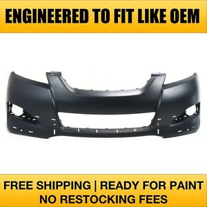 Fits 2012 2013 Toyota Matrix W Spoiler Hole Front Bumper Primered To1000345