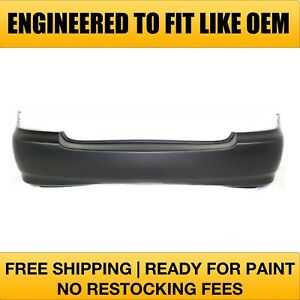 Fits 2006 2007 2008 Toyota Corolla Rear Bumper Primered to1100208