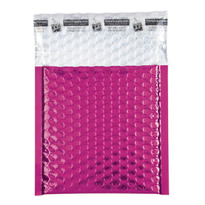 Small Pink Glamour Bubble Mailers Case Of 72