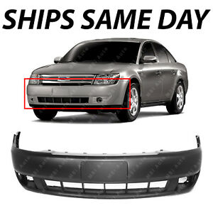 New Primered Front Bumper Cover Fascia Replacement For 2008 2009 Ford Taurus