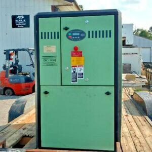 Used 25 Hp Sullair Rotary Compressor Enclosed With Computer