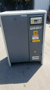 Used 10 Hp Atlas Copco Rotary Compressor Enclosed Skid