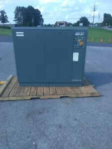 Used 50 Hp Atlas Copco Rotary Compressor Enclosed