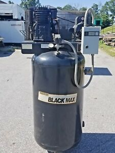 Used 5 hp Sanborn Piston Air Compressor