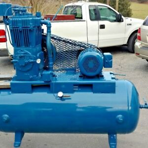 Used 10 Hp Quincy Piston Air Compressor