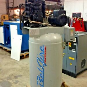 Used 7 5 Hp Belair Piston Air Compressor