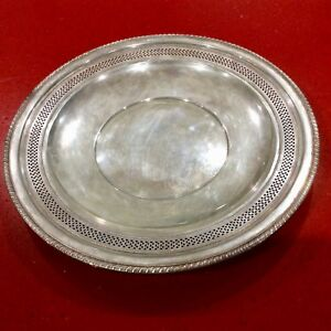 Vintage Cartier Sterling Silver 12 1 4 Tray 2864