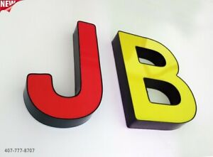 New Multi Color Channel Letters 12 Waterproof And Dust Proof Custom Made