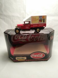 Matchbox Collectibles Coca Cola 1932 Ford Model Aa Truck 143 Scale Diecast