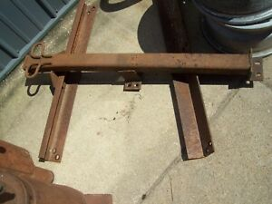Vintage 69 75 1972 International Travelall 2 Reciever Tow Hitch Mayby Truck