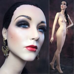 Rare Rootstein Mannequin Female Full Realistic Kathy Runway Geo Liz Taylor Vtg