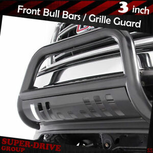 For 2006 2008 Dodge Ram 1500 Black Bumper Bull Bar With Skid Plate Grille Guards