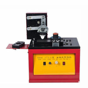 220v Enhanced Electric Ink Coding Machine Oil Cup Production Date Pad Printer