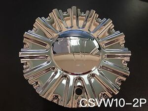 Velocity Vw10 Center Cap csvw10 2p chrome