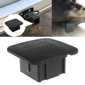2 Trailer Hitch Tube Cover Plug Receiver Dust Protecter For Jeep Ford Gmc Hq
