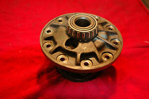 1965 79 Corvette Rear End 4 Series Posi Carrier Complete Used Nice 4 11 4 56