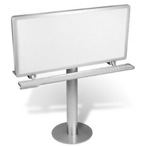 Desk Top Billboard Sign Mini 9 25 Metal Billboard Display