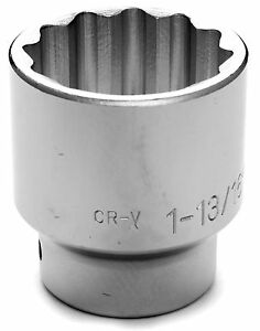 3 4 Drive 1 13 16 12 Point Socket