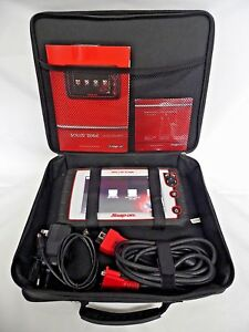 Snap On Eesc320 Solus Edge Diagnostic Auctomotive Scanner Scan Tool 17 4