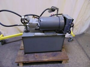 5 Hp Variable Displacement Brueninghaus Hydromatik Hydraulic Pump Power Unit