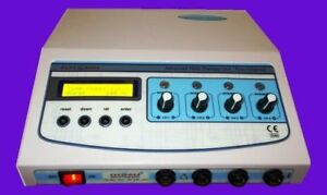 Electrotherapy Physiotherapy Body Pain Relief Unit 4 Channel Dynoplus Lcd