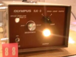 Olympus Ilk 3 Endoscopy Cold Light Supply Source Free S h