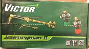 Victor 0384 2041 Journeyman Ii Edge Series Outfit Acetylene Cutting Torch Outfit