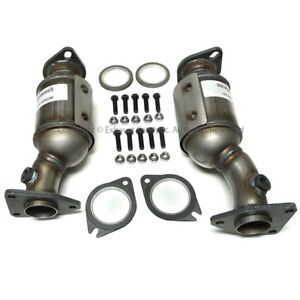 2005 2010 Fit Nissan Pathfinder Front Catalytic Converter 2 Pieces Pair