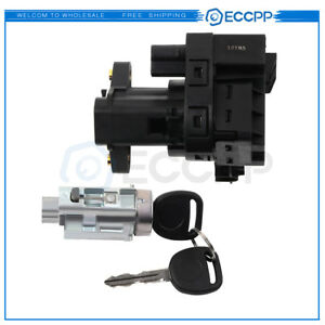 Ignition Lock Cylinder With Keys And Ignition Switch For Chevy Impala Olds