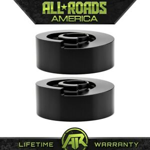 For 1997 2002 Ford Expedition Blk 2 Rear Aluminum Coil Spring Spacers Lift Kit