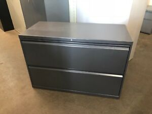 2 Drawer Lateral Size File Cabinet By Hon Office Furniture Model 892l 42 w