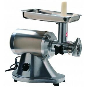 Heavy Duty Commercial Stainless Steel 1hp Electric Meat Grinder No 12 Etl nsf