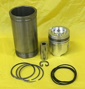 Piston Liner Kit For Caterpillar 3300 Engines 1684531 D6 D7 14h 950 966 973 330