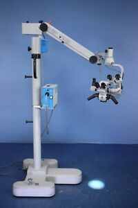 Zeiss Pro Magis Dental Ent Surgical Microscope W Dual Heads Teaching Scope