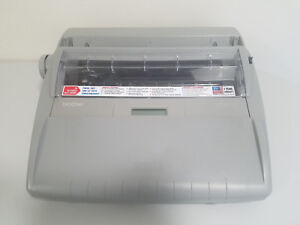 Brother Sx 4000 Electric Typewriter Word spell Auto Correct Led Tested