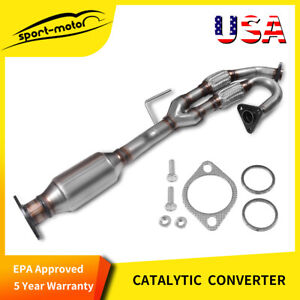 For 2003 2007 Nissan Murano 3 5l Front Exhaust Flex Y Pipe Catalytic Converter