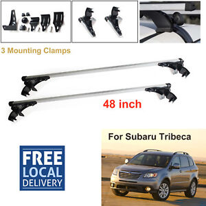 For Subaru Tribeca 2008 2011 Aluminum Car Cross Bar Cargo Luggage Roof Rack