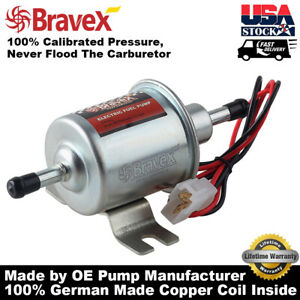 12v Hep 02a Electric Fuel Pump For Motorcycle Low Pressure Carburated Fp 02 Atv
