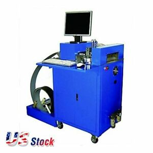 110v Cnc Notching Notcher Machine For Metal Channel Letter Single Side Notch