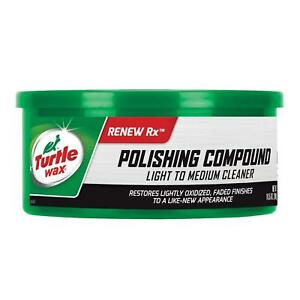 Turtle Wax T 241a Polishing Compound Scratch Remover 10 5 Oz