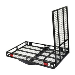 Strong Electric Wheelchair Scooter Hitch Fold Loading Carrier Rack Mobility Ramp
