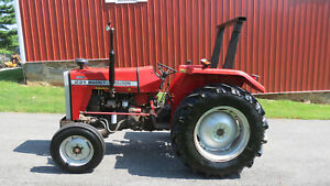 Clean One Owner 1998 Massey Ferguson 231 Utility Farm Tractor 38hp Diesel 673 Hr