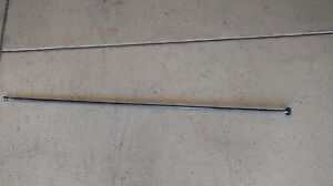 Vintage W f J Barnes Metal Lathe Bed Lead Screw 61 Oal 7 16 5 8 Tips
